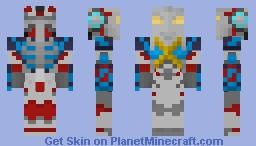 Ultraman X Gomora Armor Minecraft Skin