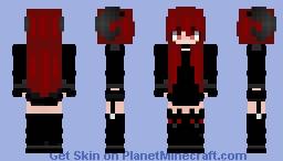 𝕯𝖊𝖒𝖔𝖓 𝕲𝖎𝖗𝖑  //  𝕰𝖉𝖎𝖙 Minecraft Skin
