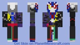 Kamen Rider Vulcan Zero one Rider Minecraft Skin