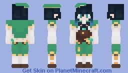 Venti skin (8bit) Minecraft Skin