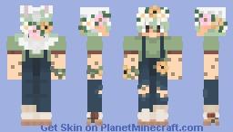 Flower boy ✿ Minecraft Skin
