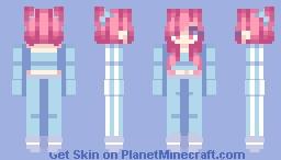 sports girl Minecraft Skin