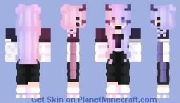 Egirl number 3 ☮ Minecraft Skin