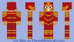 -Dragon Knight- Minecraft Skin