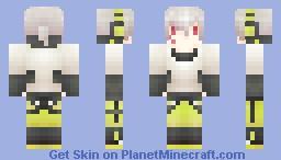 MekakuCity Actors-KOKONOSE HARUKA Minecraft Skin