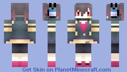 MekakuCity Actors-ENOMOTO TAKANE Minecraft Skin