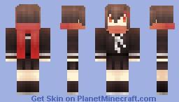 MekakuCity Actors-AYANO Minecraft Skin