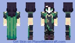 Loki of asgard | THOR [ Marvel/MCU ] | oh 'snap' Minecraft Skin