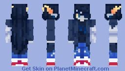 Vriska serket | Homestuck | 𝓼𝓽𝓲𝓷𝓴𝔂 Minecraft Skin