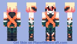 Katsuki Bakugou - BNHA Minecraft Skin