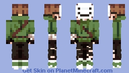 dream but god is in the desc Minecraft Skin