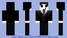 Dark Shadow Minecraft Skin