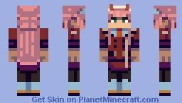 Zero Two: Revision! Minecraft Skin