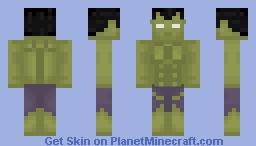 The Hulk   100 Marvel Skins Minecraft Skin