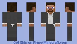007 Steve Minecraft Skin