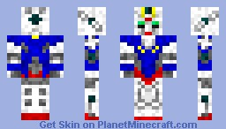 00 Gundam (from Gundam 00) Minecraft Skin