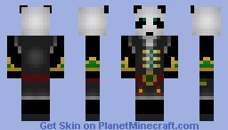 Pandaren monk (world of warcraft :mists of pandaria) Minecraft