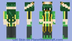 Black Tsuyu Asui Minecraft Skin