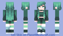 𝒞𝓇𝑒𝓈𝓉𝓌𝒶𝓉𝑒𝓇𝓈 - Lilypads Minecraft Skin