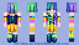 . sweetie magical! . sf . Minecraft Skin