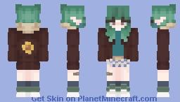 elf girl Minecraft Skin