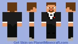 Minecraft Steve Bare Bones Variant Xbox Minecraft Skin