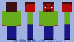 Angriest Man In The World Minecraft Skin