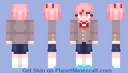 Natsuki [Doki Dok Literature Club] (3/5 Skins) Minecraft Skin