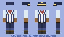 Conductor base i made Minecraft Skin