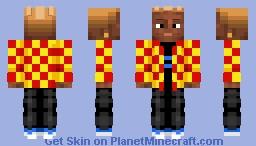 a man named henderson Minecraft Skin
