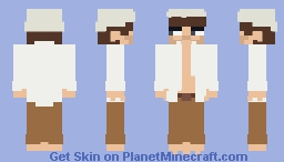 [Quick+Unshaded] Casey Frey (w/ finger+toe details just because) Minecraft Skin