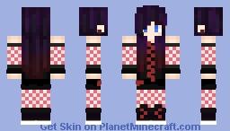 Ebony Darkness Dementia Raven Way Minecraft Skin