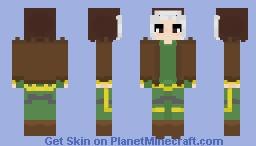 X-MEN - Rogue Minecraft Skin