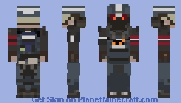 IN PROGRESS Helghast Security Skin - Killzone Shadow Fall Minecraft Skin