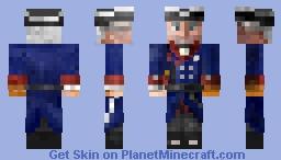 Frederick the Great Minecraft Skin