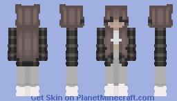 grunge girl Minecraft Skin