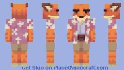 summer fox Minecraft Skin