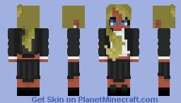 I could be blue.. Minecraft Skin