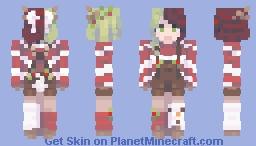 Christmas owo . FestiveFireBell Minecraft Skin