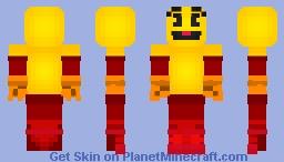 Pac-Man SSBU (Dark Red) Minecraft Skin