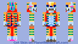 Aztec Ocēllōpilli Minecraft Skin
