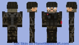 Gideon - Call of Duty: Advanced Warfare Minecraft Skin
