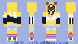 Humanized Snapchat Minecraft Skin