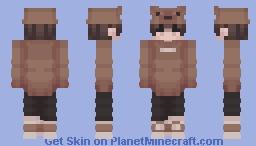 Another Bear Hat Boy Minecraft Skin