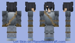 Knight Armour v4 (Without Helmet) Minecraft Skin