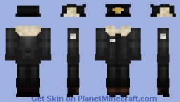 Barotrauma Veteran Captain Outfit Minecraft Skin