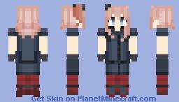 Saratoga | Kantai Collection Minecraft Skin