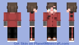 Strings [Popgoes The New Generation] (My Human Version) Minecraft Skin