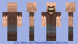 Refreshed Notch Minecraft Skin
