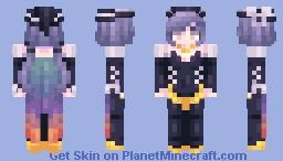 [Kari] Sunset Witch Minecraft Skin